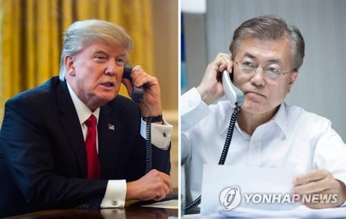 الرئيس الكوري الجديد يتلقى أول اتصال هاتفي للتهنئة من نظيره الأمريكي