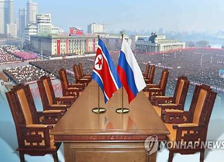 """""""북-러, 올 1분기 교역액 지난 해 보다 85% 증가"""""""
