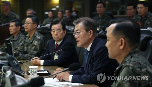 Pres. Moon: Seoul Will Never Tolerate N. Korea's Nuclear and Missile Threats