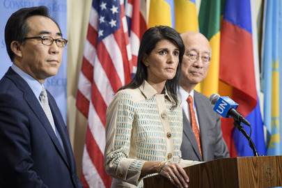 Haley: Dialogue if N. Korea Suspends Nuke Process