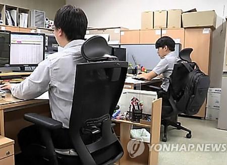 三分之一的韩国公共部门员工为非正式员工