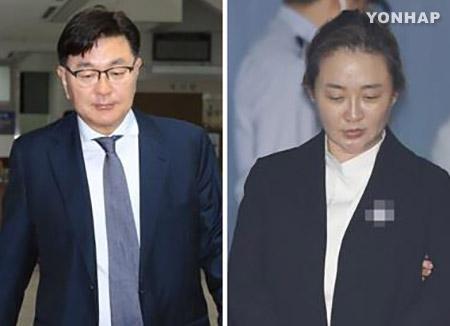 '비선진료' 박채윤 징역 1년·김영재 집행유예...'국회위증' 정기양 징역 1년