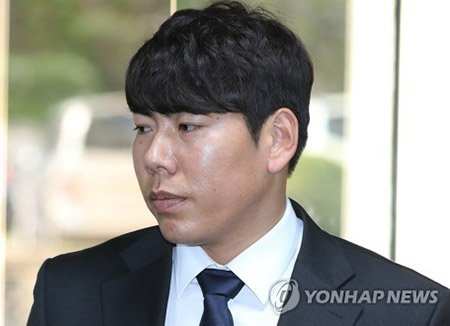 '음주 삼진아웃' 강정호 선수, 항소심도 징역형 집행유예