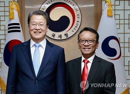 Direktur Jenderal Pajak Korsel dan Indonesia Mengadakan Pertemuan di Seoul