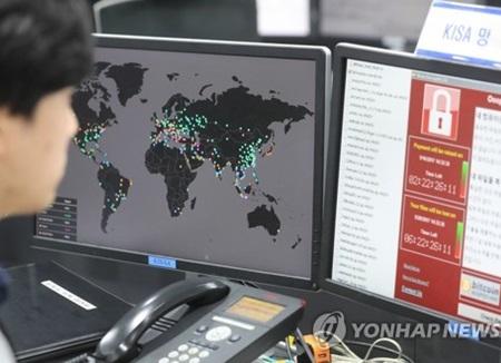 """랜섬웨어 해커 """"6월에 북한 핵 미사일 정보 공개"""" 주장"""