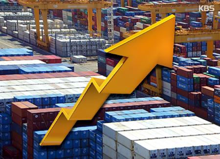 輸出額 7か月連続増加の見込み