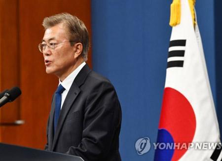 Moon Jae In obtiene un aval de 9 a 1 por su buena gestión como presidente