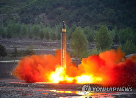 N. Korea Fires Scud Missile into East Sea