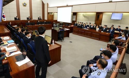 النيابة العامة تتعهد بإثبات التهم الموجهة إلى بارك