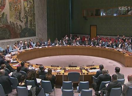 国連安保理 北韓のミサイル発射に強力な糾弾声明