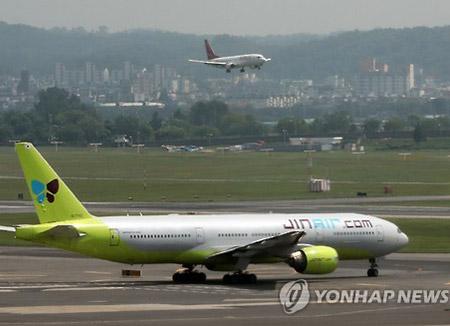 Бюджетная авиакомпания Jin Air перевезла 19 млн пассажиров