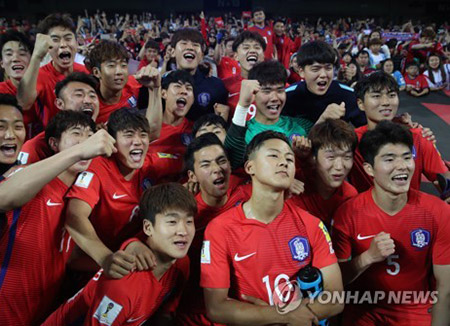 S. Korea Beats Argentina to Advance to Round of 16 at U-20 World Cup