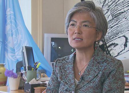 外交部長官候補 「人道支援は政治状況と無関係」