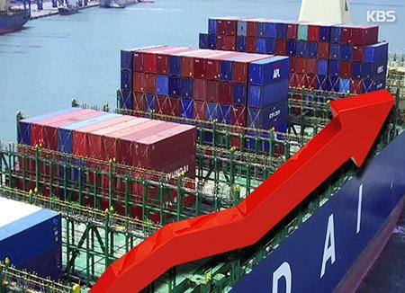 Южнокорейский экспорт продолжает расти