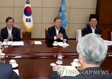 Moon Points to Significance of Seoul-Moscow Ties