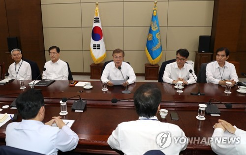 Moon Asks for Public's Understanding in Recruitment Mishaps
