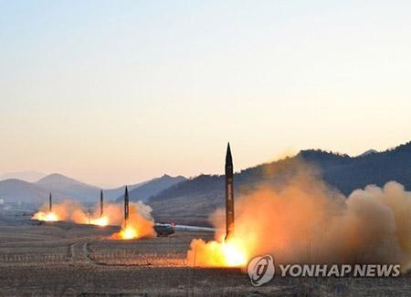 La Corée du Nord a tiré plus d'un missile près de Wonsan