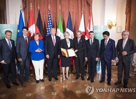 EL G7 condena los ensayos nucleares y balísticos de Corea del Norte