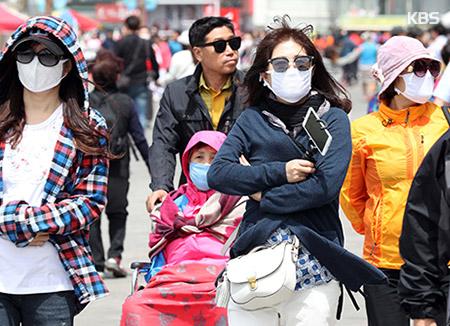 PM2.5悪化 マスクなどの売れ行きは絶好調