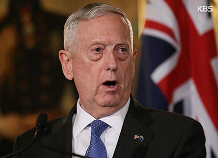 米国防長官 「北韓は最も緊急で危険な脅威」