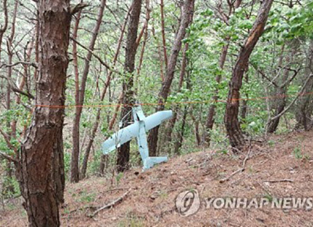 韩军:北韩无人机拍摄星州萨德基地