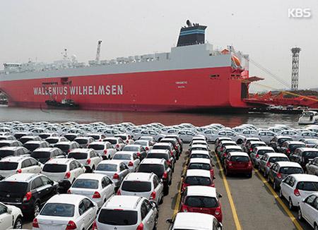 РК увеличила в августе экспорт автомобилей
