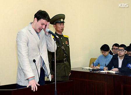 北韓で拘束の米大学生 「昏睡状態」で解放