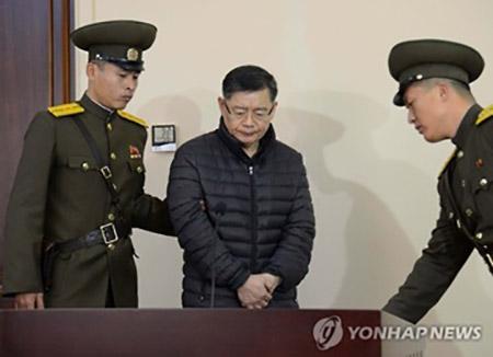 北韓に抑留中の韓国国民は6人