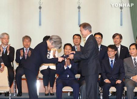 Präsident Moon ernennt Kang Kyung-wha zur Außenministerin