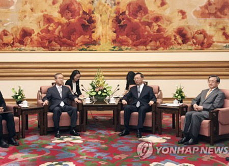 China's Top Diplomat: Seoul and Beijing Should Jointly Maintain Common Interests