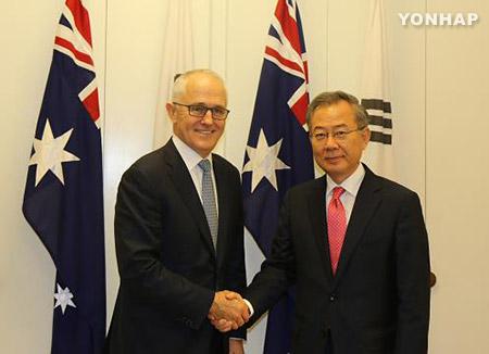 郑东采:澳大利亚总理希望尽早与文在寅总统举行会谈