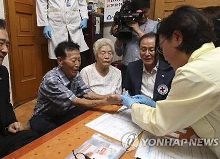 남북 이산가족 유전자검체 정부 직접 관리 확정