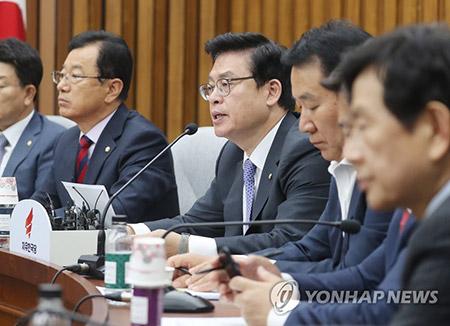 """야3당 """"문 정부 일방적 탈원전 정책, 국민에 부담줄 것"""""""