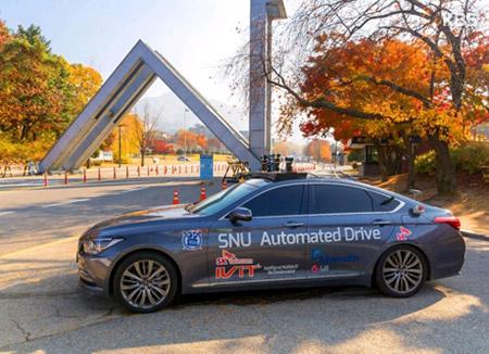 نجاح أول تجربة تسيير سيارة ذاتية القيادة طورتها جامعة سيول