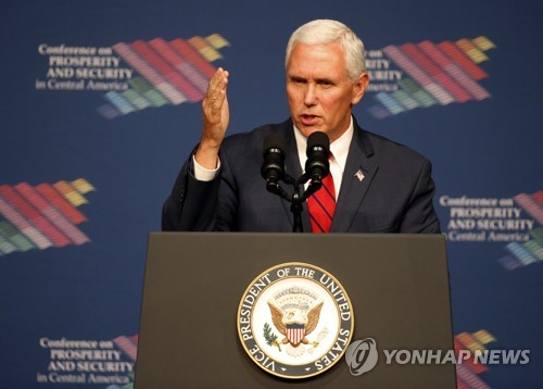 Pence Vows to Keep Pressure on N. Korea Until It Abandons Nukes