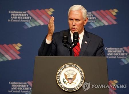 Pence s'engage à continuer à faire pression sur la Corée du Nord