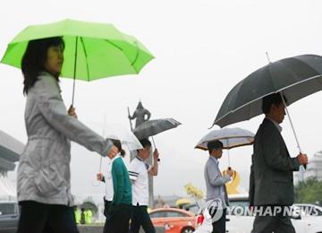 Rain in the Forecast in Gyeonggi Province