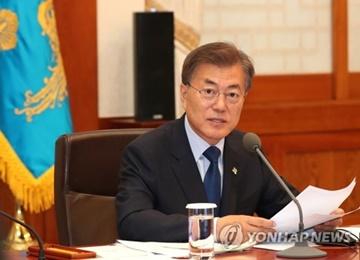 Moon will sich mit allen verfügbaren Mitteln für Denuklearisierung Nordkoreas einsetzen