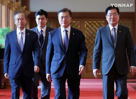 Tổng thống Moon Jae-in lên đường thăm Mỹ