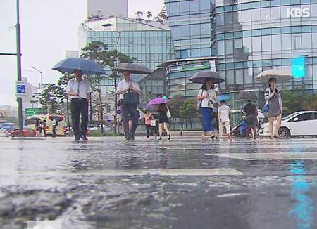ソウルなど中部地方、梅雨入り目前