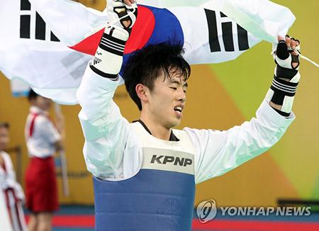 テコンドー世界選手権 チョン・ユンジョが58キロ級で金