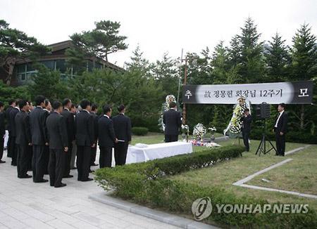 北韓 現代峨山元会長の追悼式開催を拒否