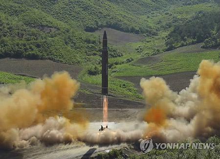 واشنطن تقول إن اختبار كوريا الشمالية لم يشتمل على صاروخ باليستي