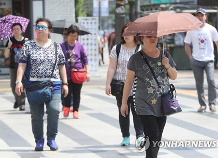 No remite la ola de calor en Corea del Sur