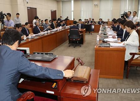 안행위, '정부조직법 개정안' 소위 회부