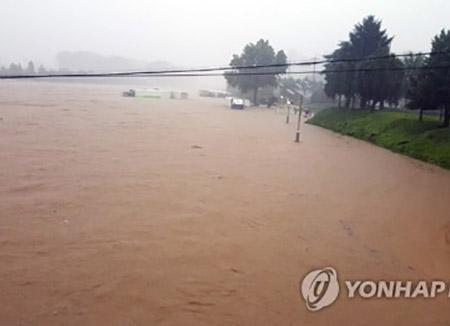 Hujan Lebat Menelan 6  Korban di Wilayah Tengah Korsel