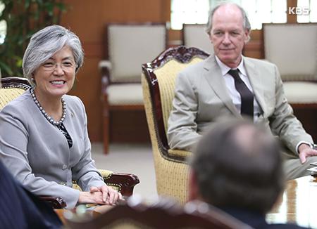 Außenministerin: Südkorea will Berlin-Initiative in enger Zusammenarbeit mit USA voranbringen