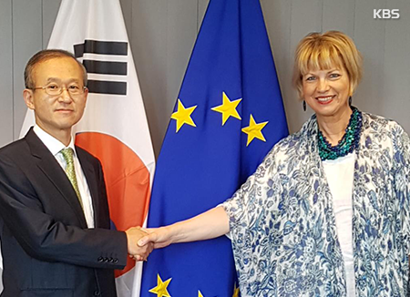EU unterstützt führende Rolle Südkoreas für Lösung nordkoreanischer Nuklearfrage