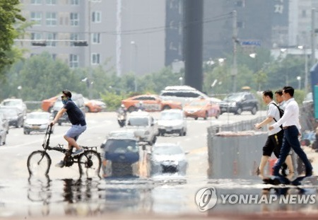 Peringatan Udara Panas Menyengat Baru Pertama Kali Diirilis di Seoul