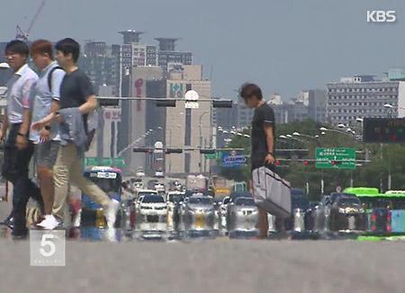 Корейское лето становится длиннее